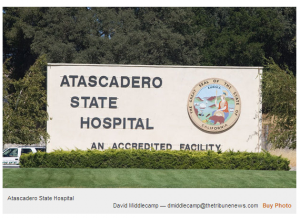 Atascadero State Hospital is one of five in California.